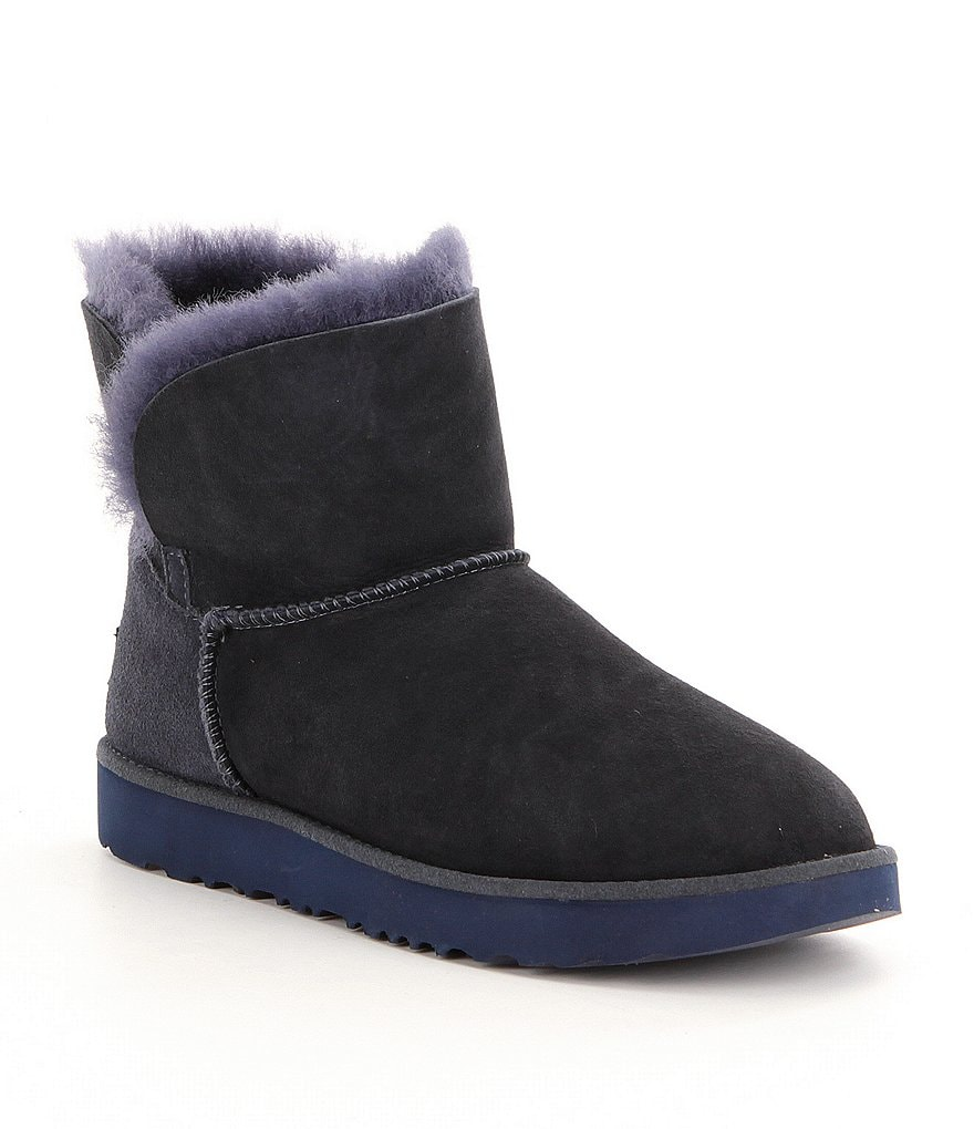 UGG® Classic Cuff Slip-On Mini Booties