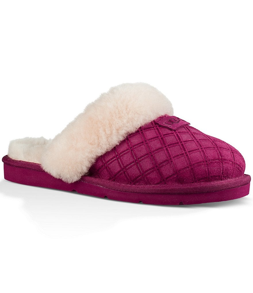 UGG® Cozy Double Diamond Slip On Slippers
