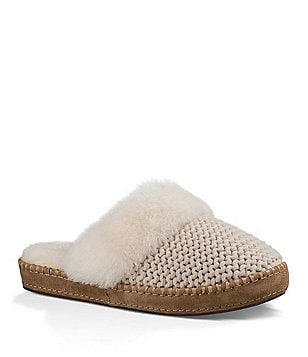 UGG® Aira Double Purl Knit Slippers