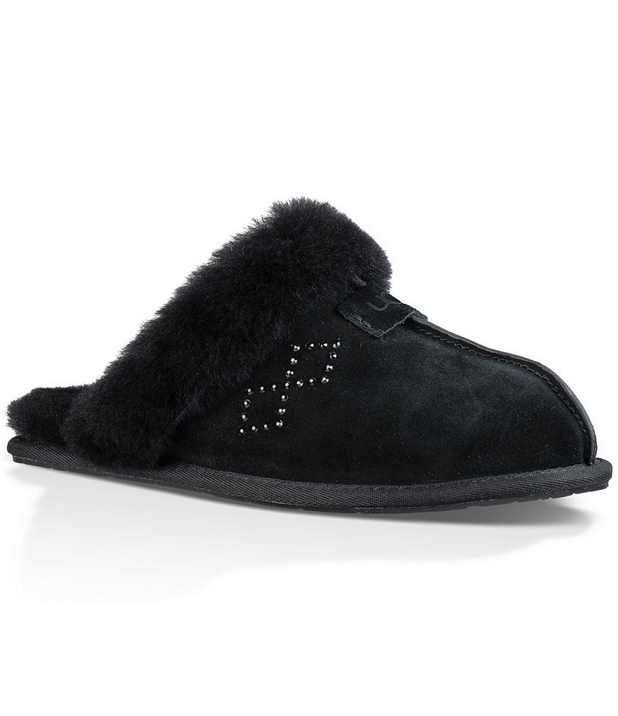 UGG® Scufette II Crystal Diamond Slip-On Slippers