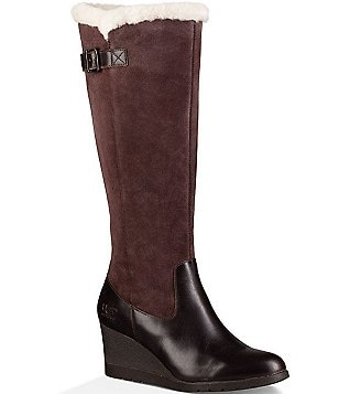 UGG® Mischa Waterproof Wedge Boots
