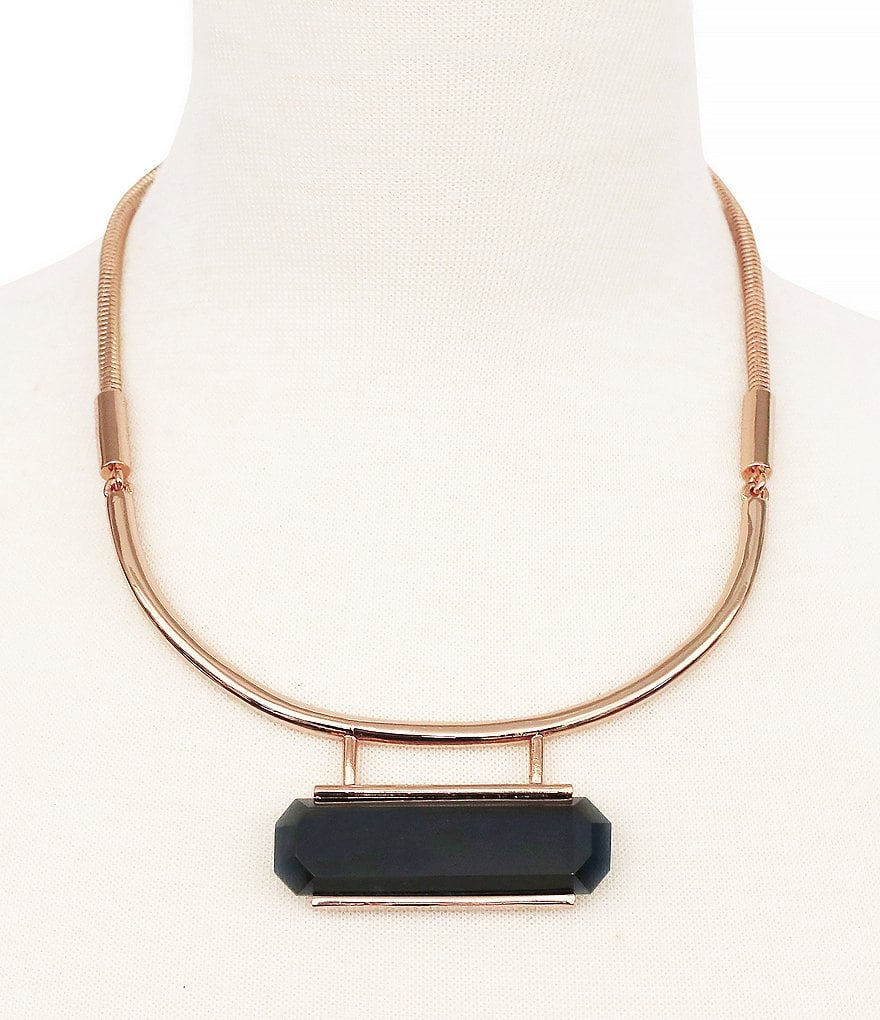 Vince Camuto Modern Strokes Collar Necklace