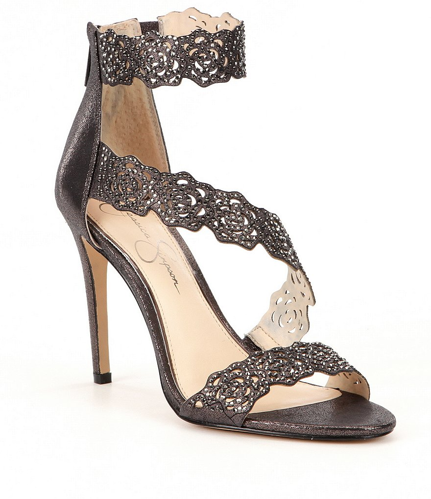 Jessica Simpson Geela Laser-Cut Sandals