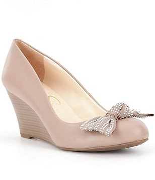 Jessica Simpson Sabelle Bow Wedges