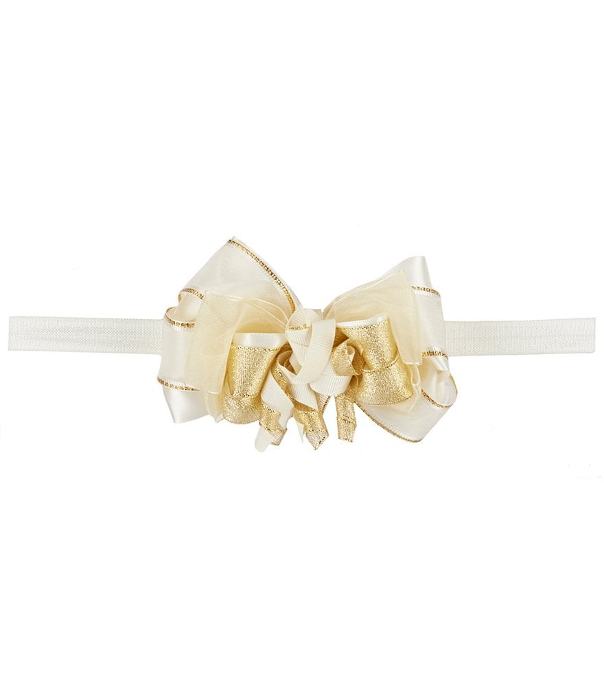 Starting Out Baby Girls Ribbon Bow Headband