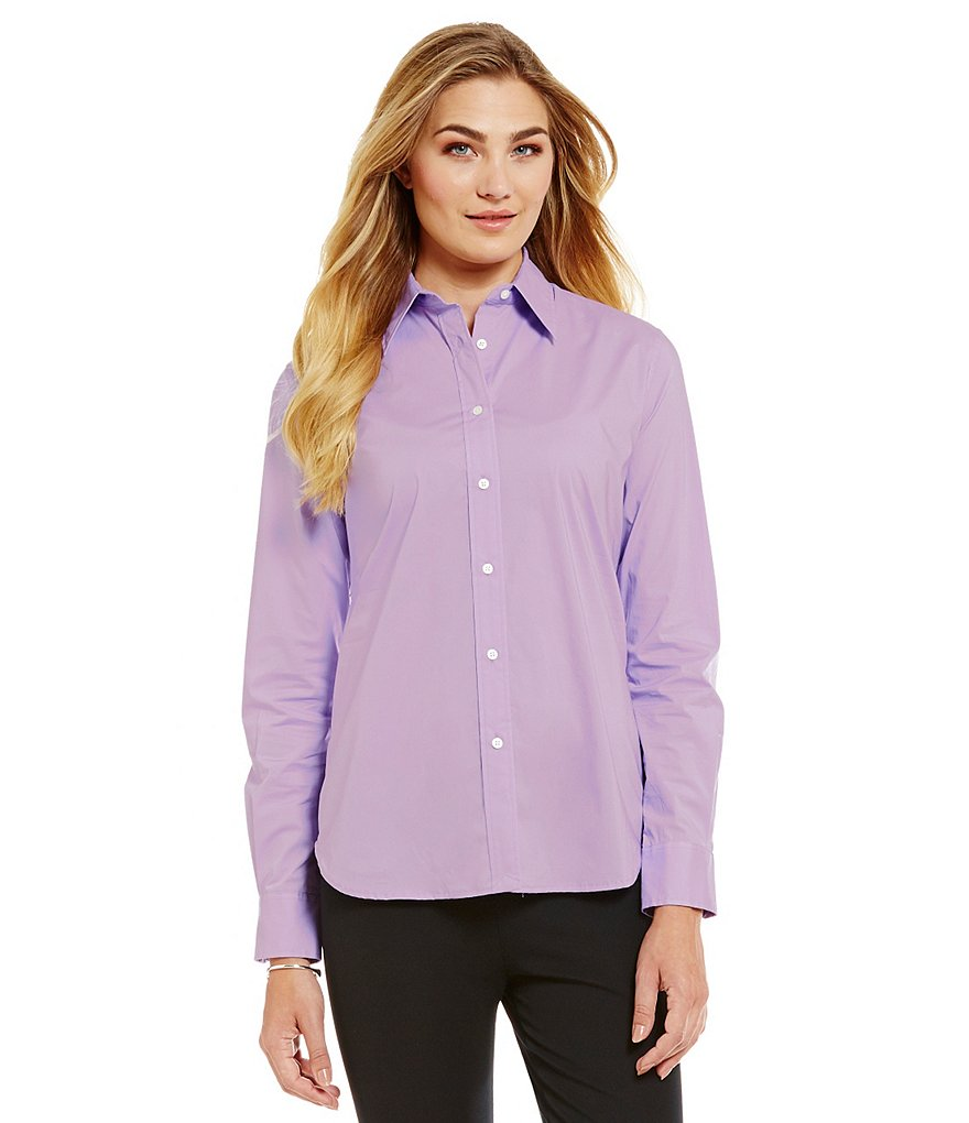 Lauren Ralph Lauren Stretch Cotton Shirt