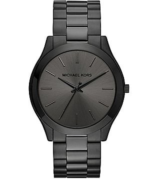 Michael Kors Slim Runway Analog Bracelet Watch
