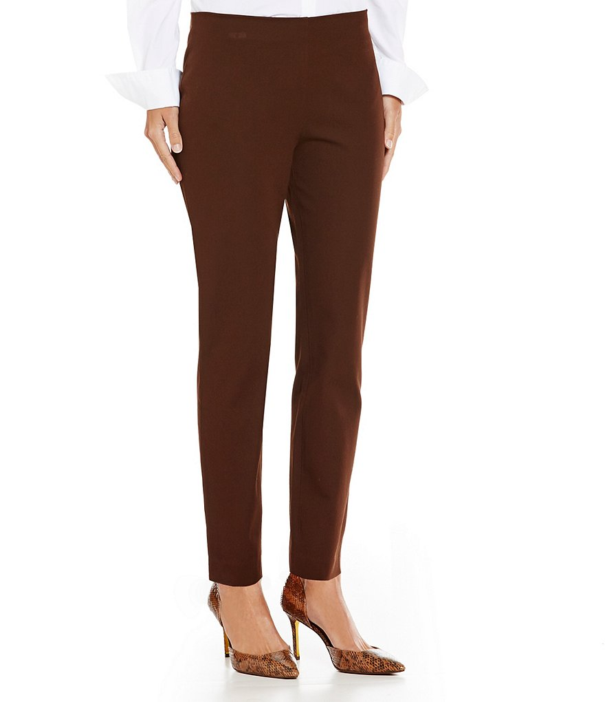 Lauren Ralph Lauren Petite Stretch Cotton Skinny Pant