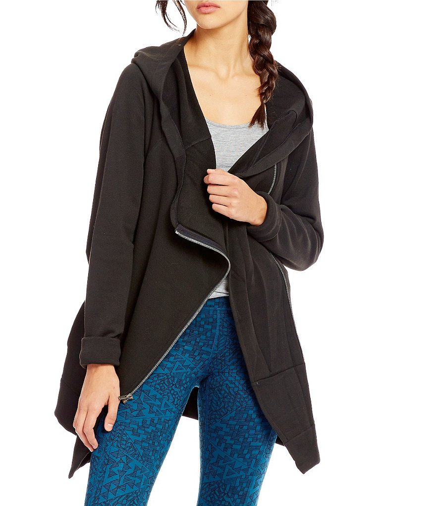 Lucy Effortless Ease Asymmetrical Front Jacket