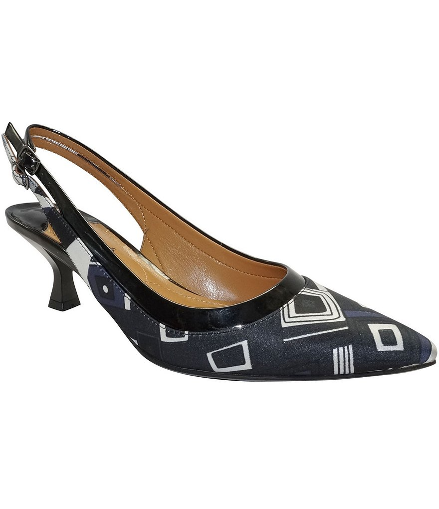 J. Renee Kenlie Sling Pumps