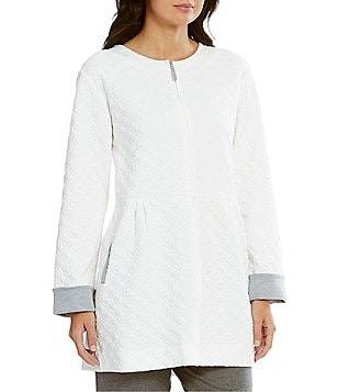 Carole Hochman Diamond-Quilted Bed Jacket