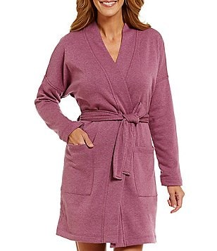 UGG® Braelyn Double-Knit Fleece Wrap Robe