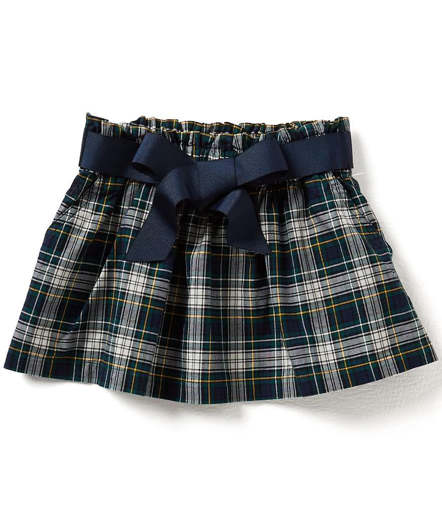Ralph Lauren Childrenswear Little Girls 2T-6X Plaid Oxford Skirt