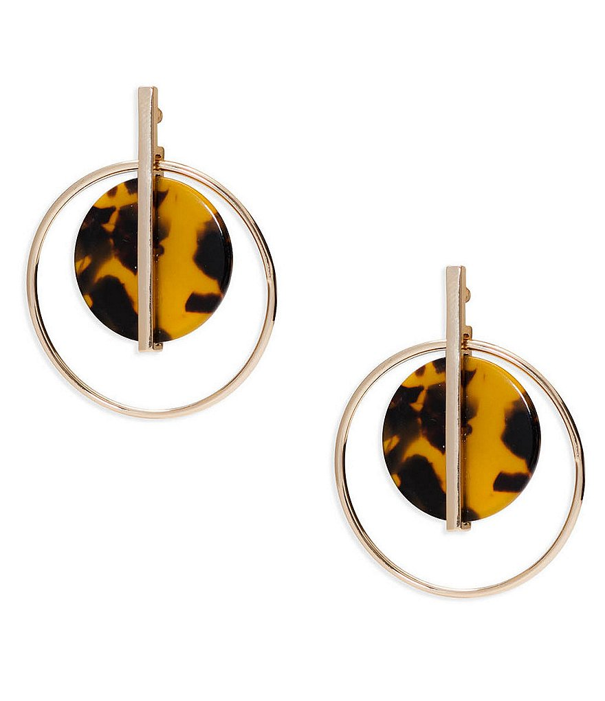 Lauren Ralph Lauren Riding High Orbital Hoop Earrings