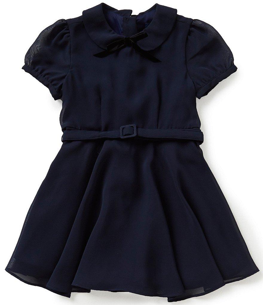 Ralph Lauren Childrenswear Little Girls 2T-6X Chiffon Skater Dress