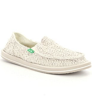 Sanuk Womens Donna Knit Slip-on Shoes