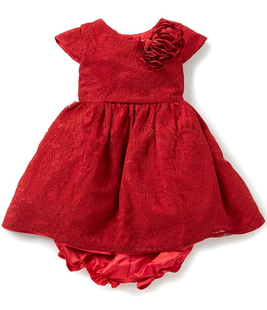 Pippa & Julie Baby Girls 12-24 Months Lace Dress