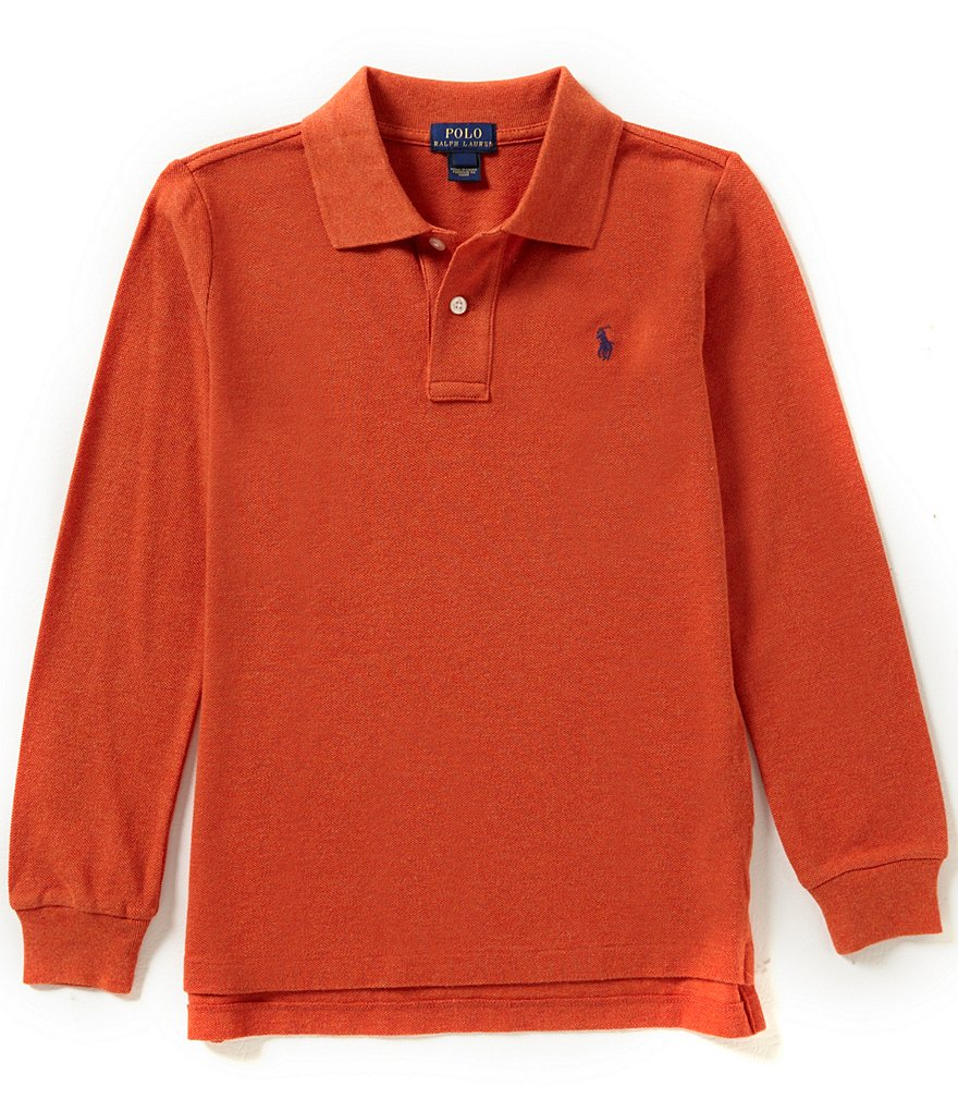 Ralph Lauren Childrenswear Big Boys 8-20 Preppy Long-Sleeve Polo Shirt