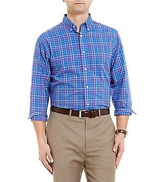 Daniel Cremieux Signature Small Check Long-Sleeve Woven Shirt