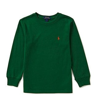 Ralph Lauren Childrenswear Big Boys 8-20 Long-Sleeve Tee