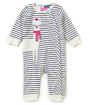 Joules Baby Girls Newborn-18 Months Baby Gracie Long Sleeve Coverall