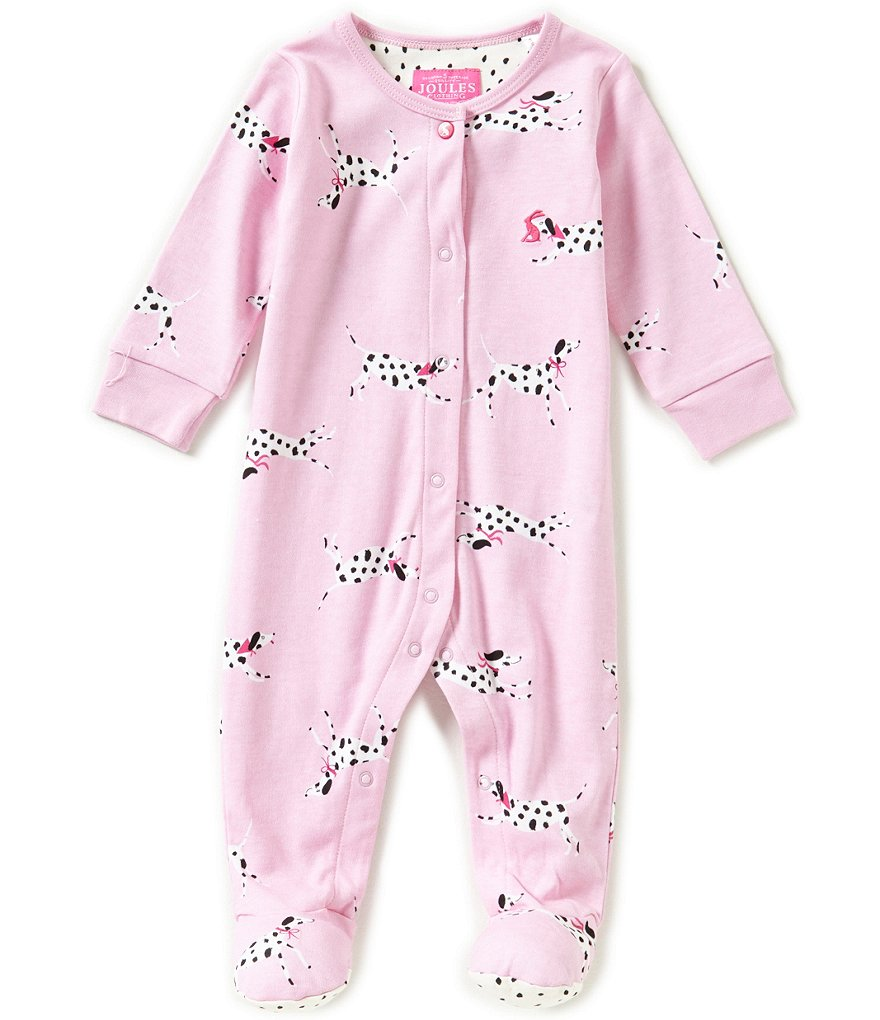 Joules Baby Girls Newborn-18 Months Baby Razama Footed Coverall