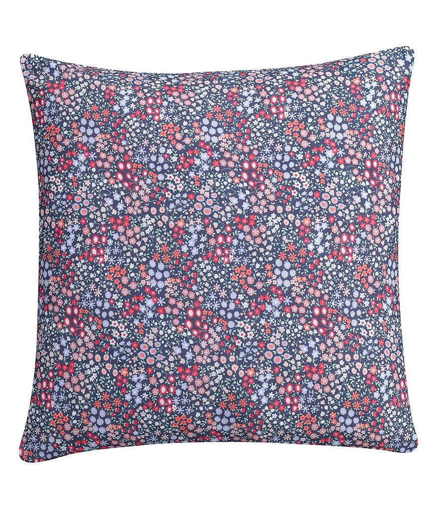 Cupcakes & Cashmere Sketch Floral Square Pillow