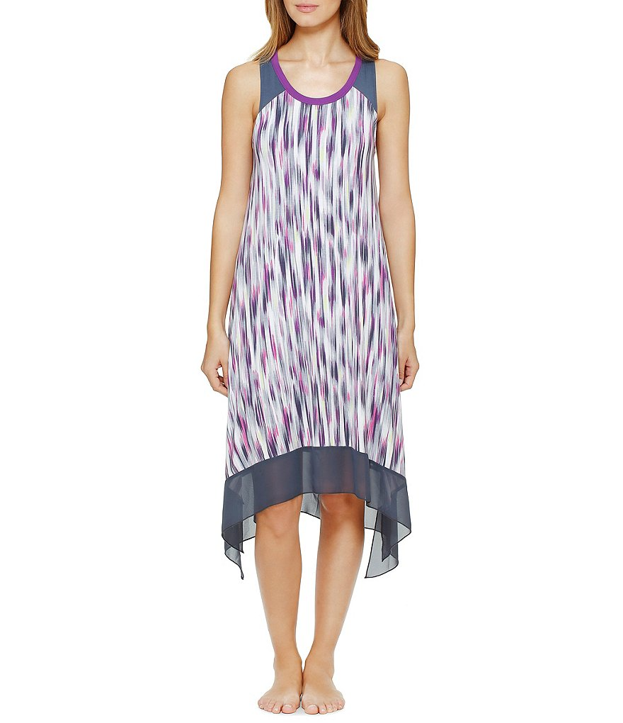 DKNY Abstract Sharkbite Chemise