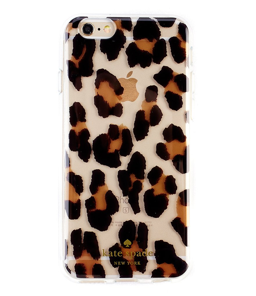 kate spade new york Leopard-Print iPhone 6/6s Case