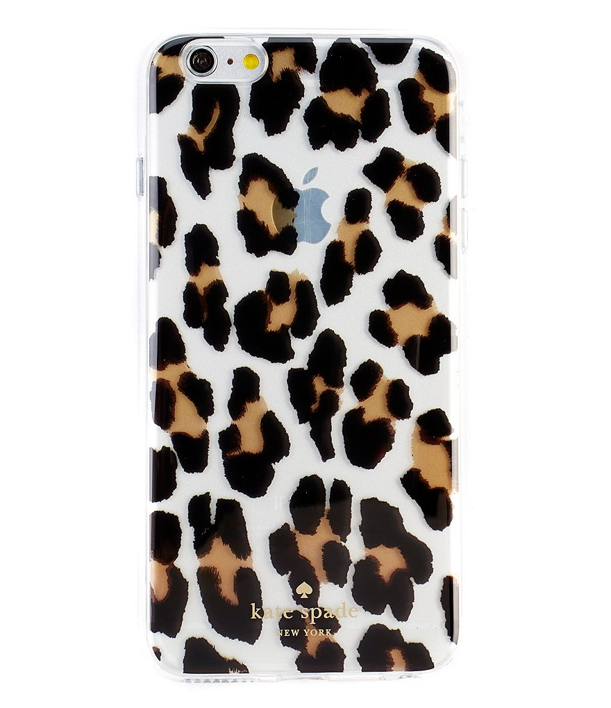 kate spade new york Leopard-Print iPhone 6/6s Plus Case
