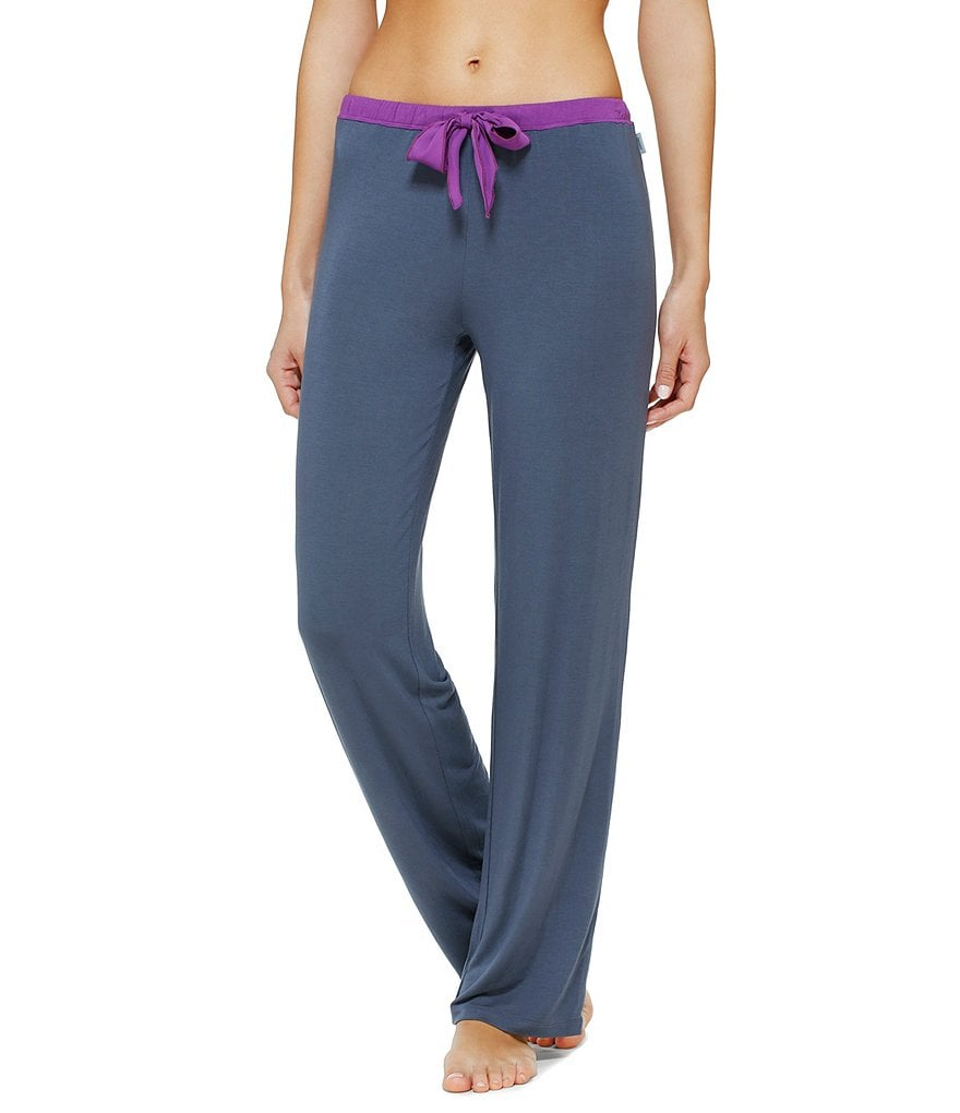 DKNY Color Block Pajama Pants
