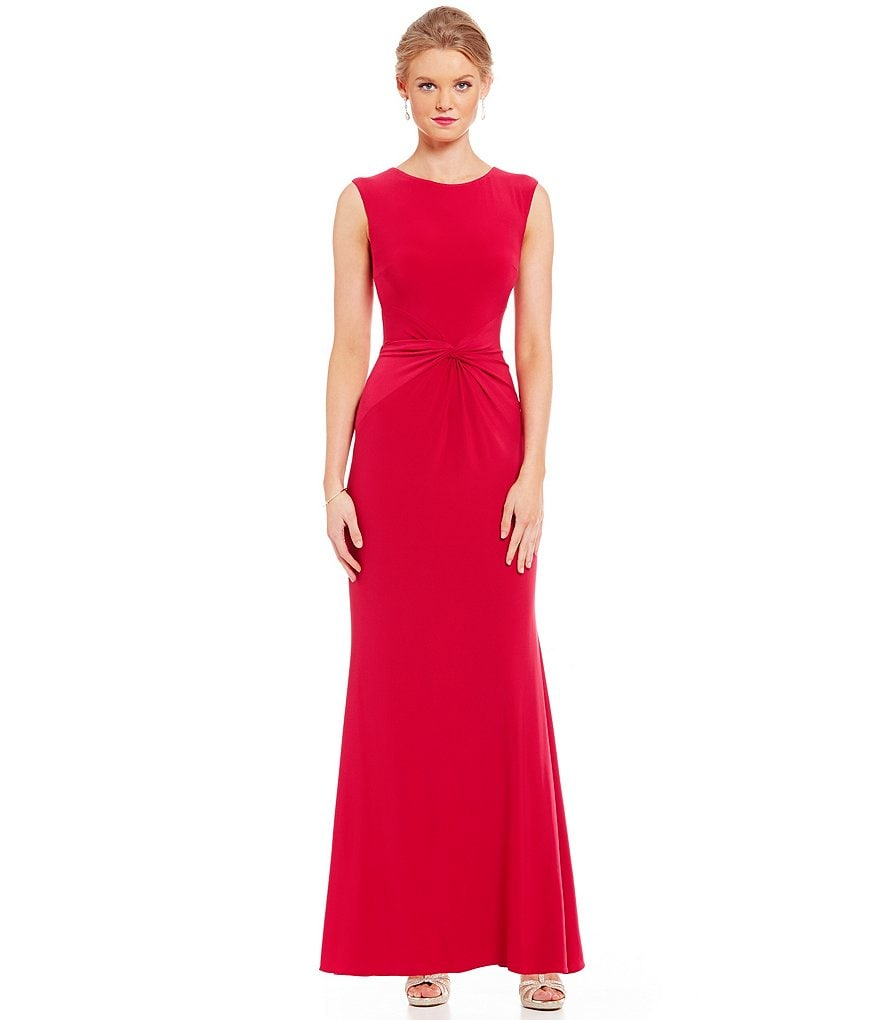 Betsy & Adam Gathered Waist Gown