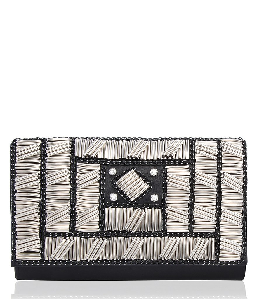 Nina Art Deco Beaded Envelope Clutch