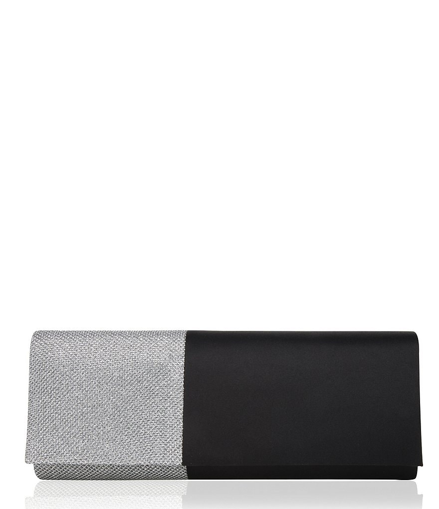 Nina Satin Mirage Roll Clutch