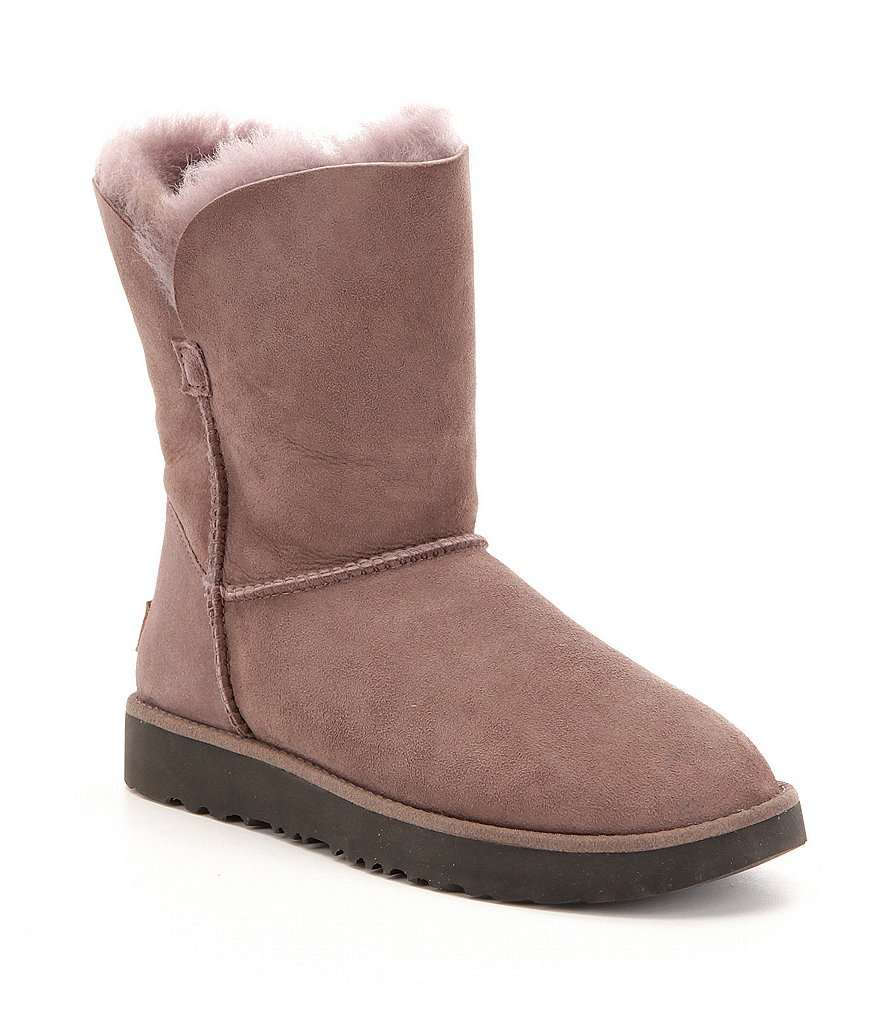 UGG® Classic Cuff Short Microsuede Slip-On Booties
