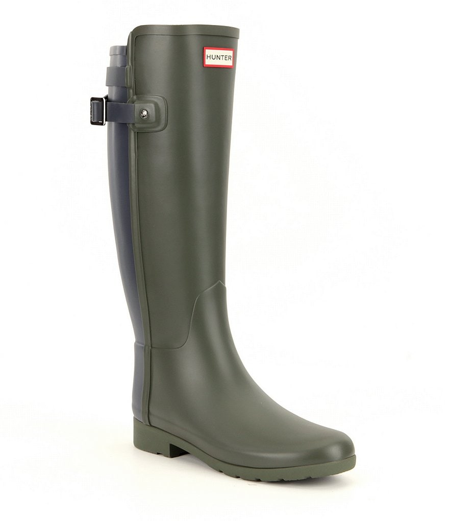 Hunter Original Refined Back Strap Rain Boots