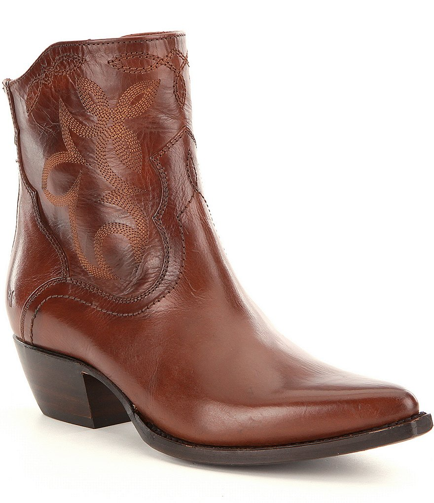 Frye Shane Embroidered Short Boots