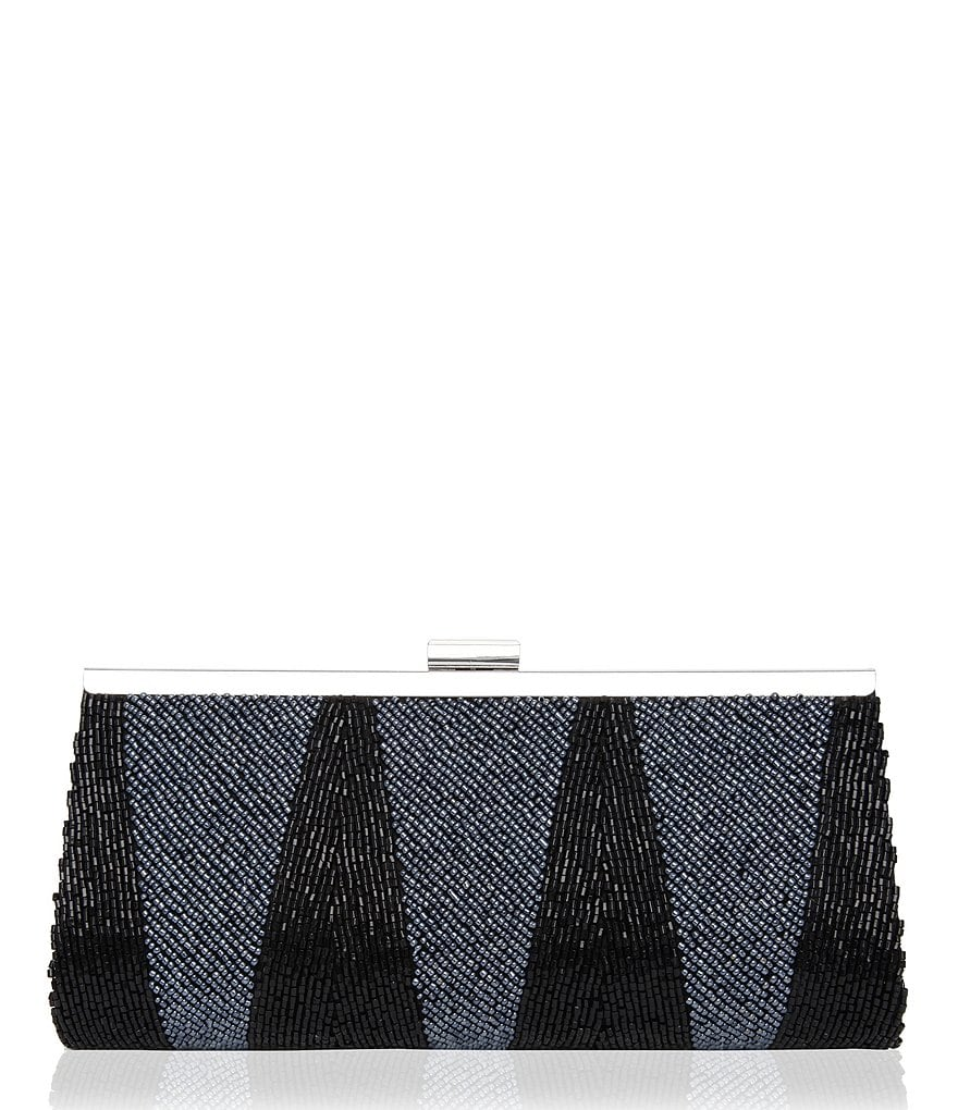 Nina Art Deco Beaded Frame Clutch