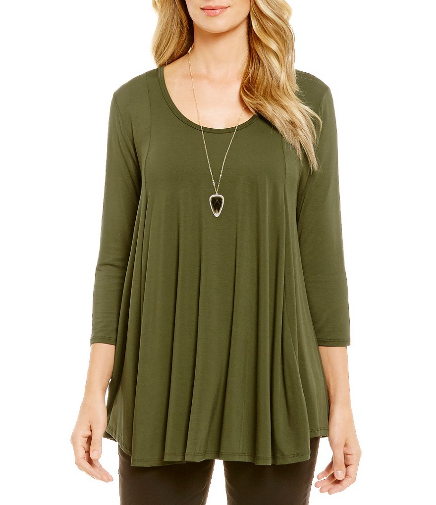 Gibson & Latimer 3/4 Sleeve Knit Tunic