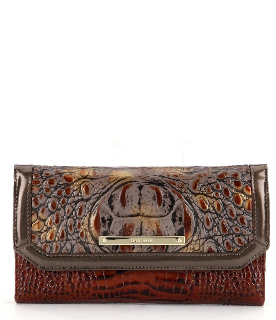 Brahmin Durham Collection Soft Checkbook Wallet