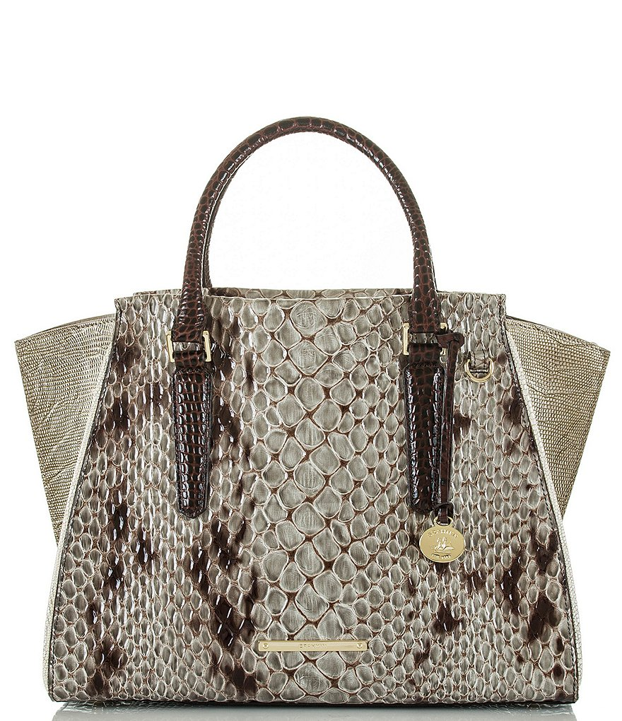 Brahmin Carlisle Collection Priscilla Satchel