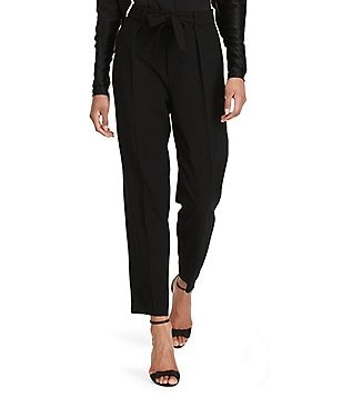 Polo Ralph Lauren Crepe High-Rise Straight Leg Pant