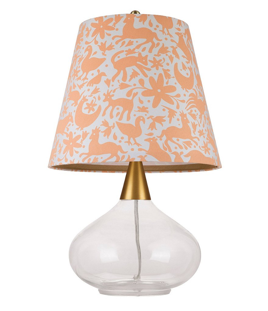 Cupcakes & Cashmere Teardrop Glass Table Lamp