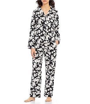 Van Winkle & Co. Winter Floral Portuguese Flannel Pajamas