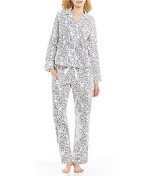 Van Winkle & Co. Animal-Print Portuguese Flannel Pajamas
