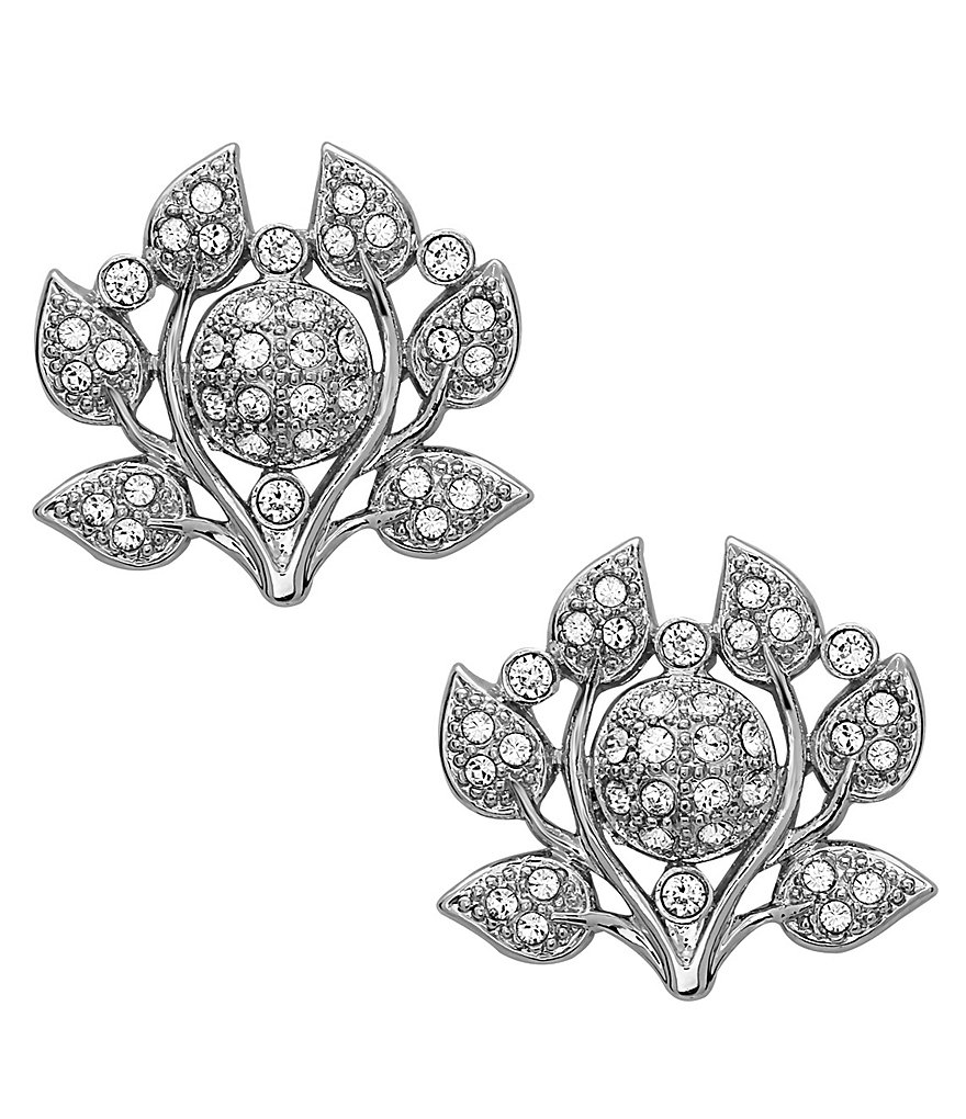 Nina Camilia Crystal Stud Earrings