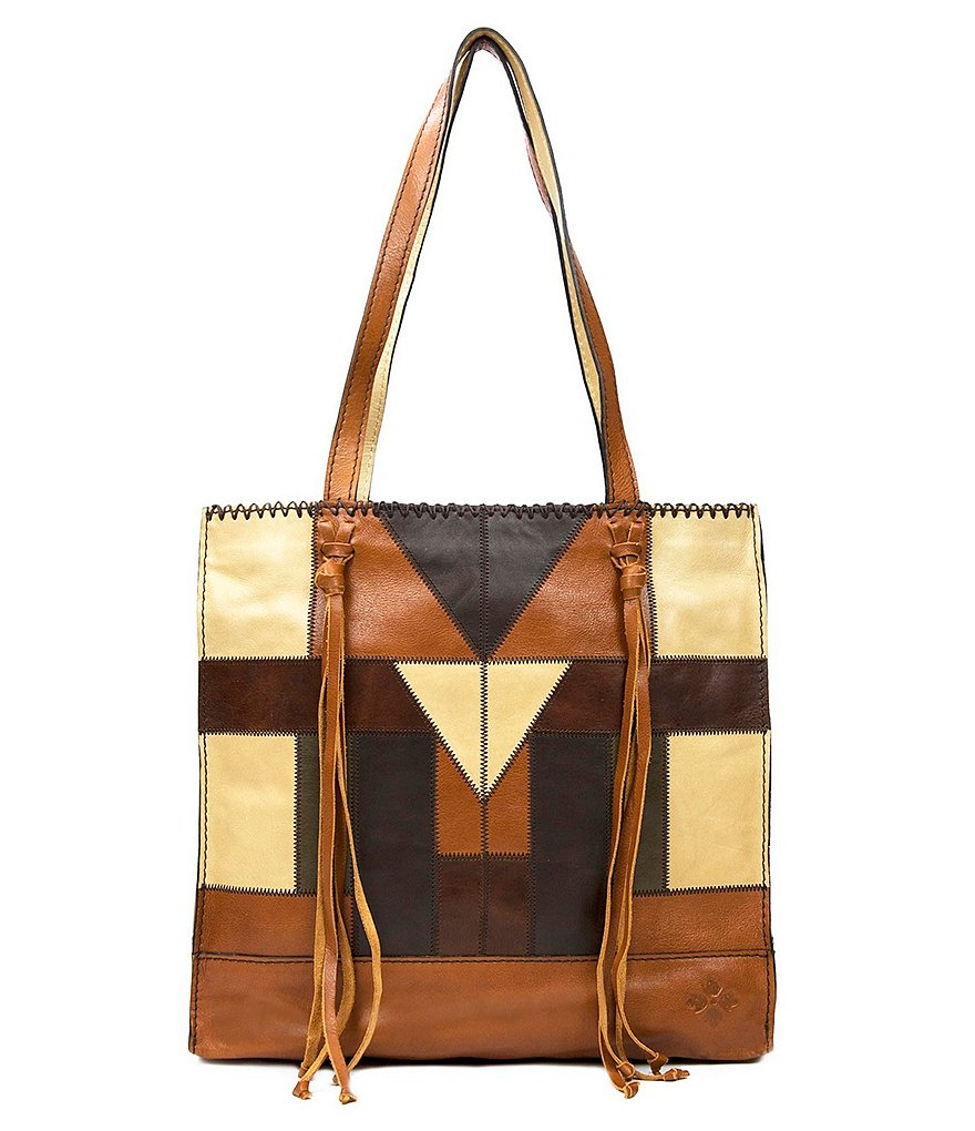 Patricia Nash Zig Zag Patchwork Collection Toscano Tote