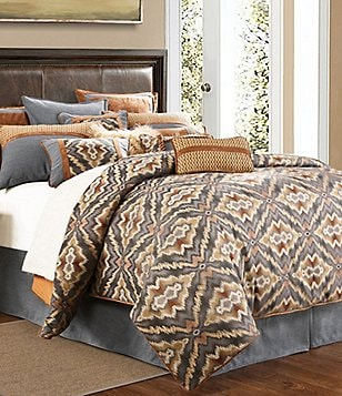 HiEnd Accents Lexington Tribal Comforter Set