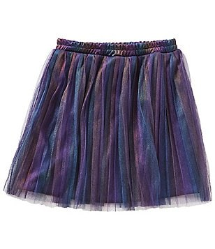 Xtraordinary Big Girls 7-16 Iridescent Ombre Pleated Skirt