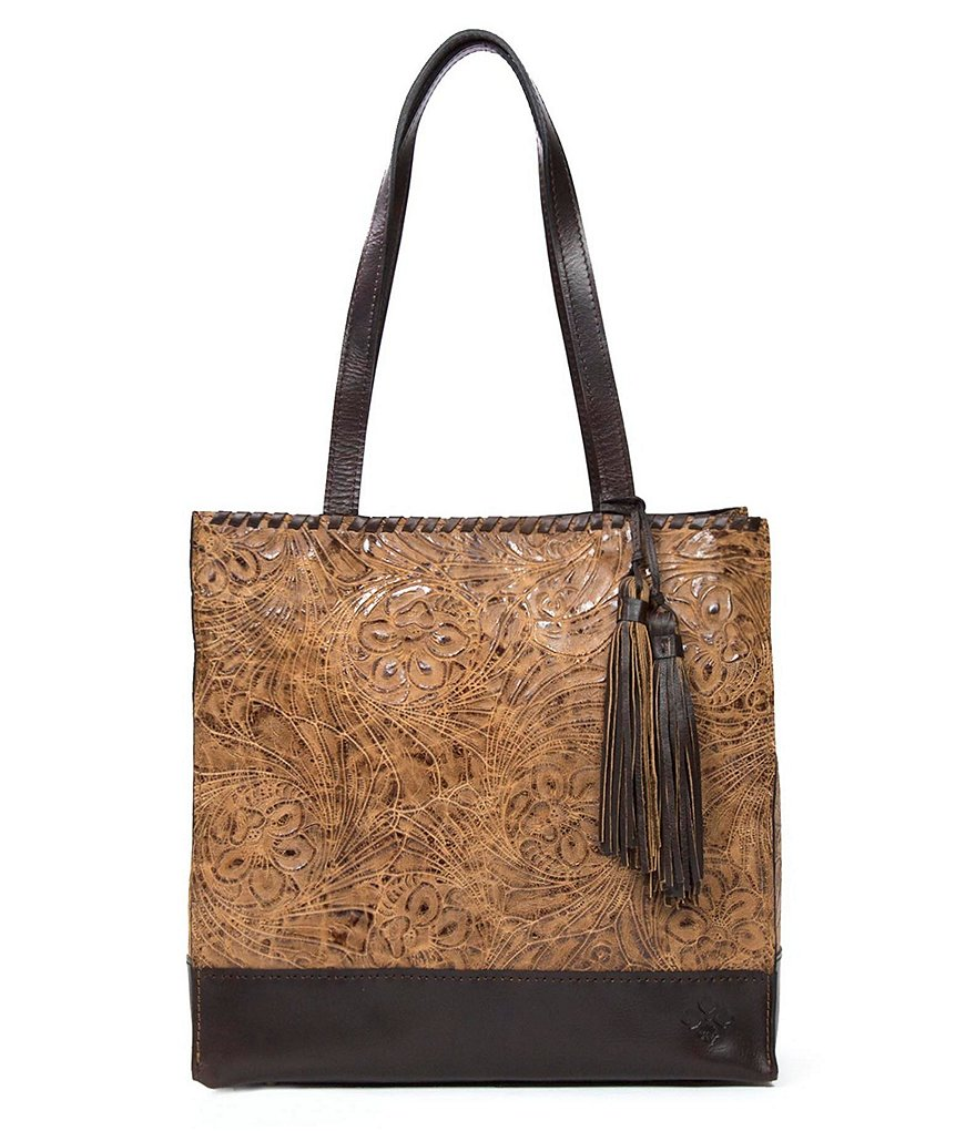 Patricia Nash Glazed Floral Collection Toscano Tote